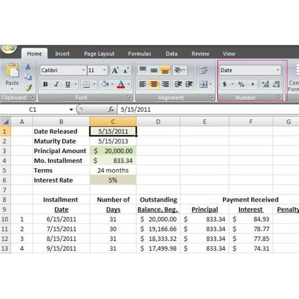 Loan Amortization Schedule Excel Spreadsheet