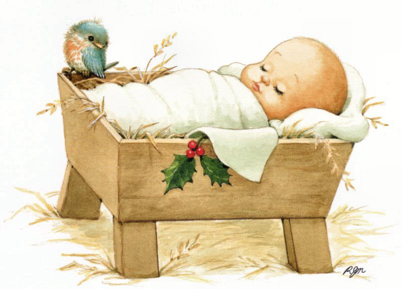 Manger Clipart Baby Jesus In A Manger Clipart And Baby Jesus In A