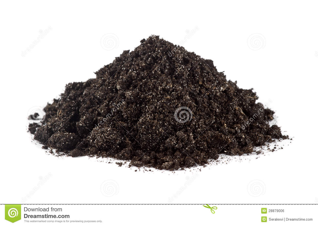 Pile of garden soil royalty free stock image image for Soil clipart
