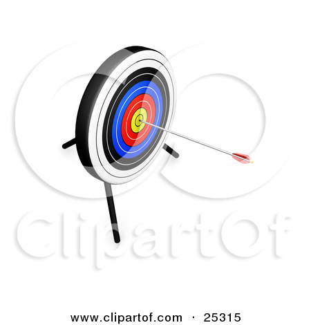 Royalty Free  Rf  Bullseye Clipart Illustrations Vector Graphics  1