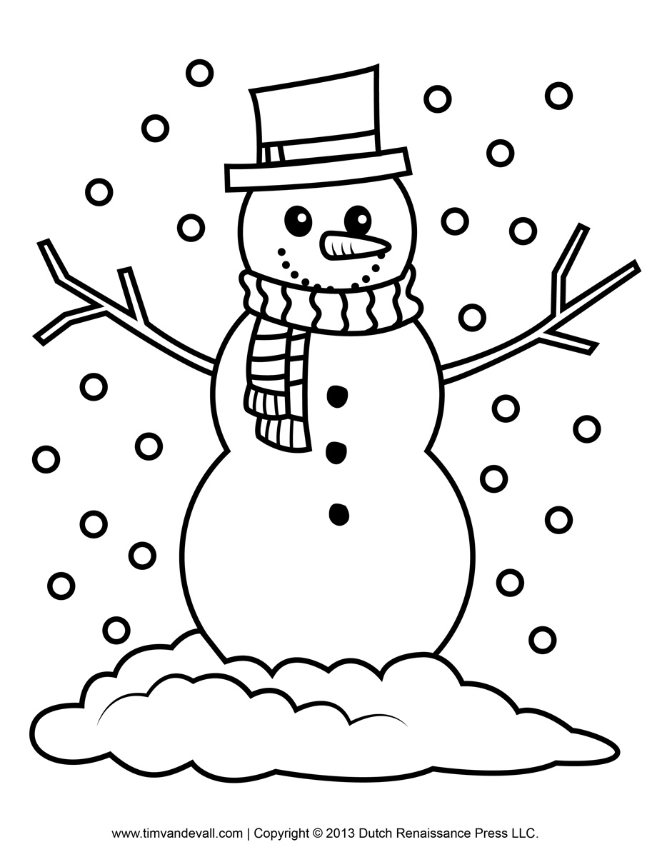 Snowman Clipart Decorations