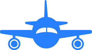 vacation airplane clip art - photo #26