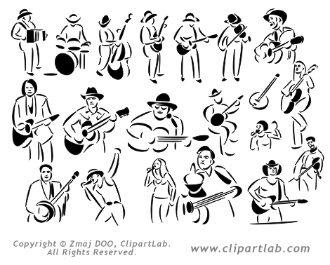 Country Music Clipart Eps Country Art