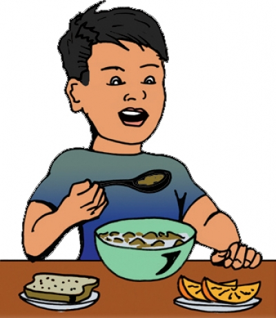 Eat Breakfast Clipart - Clipart Kid