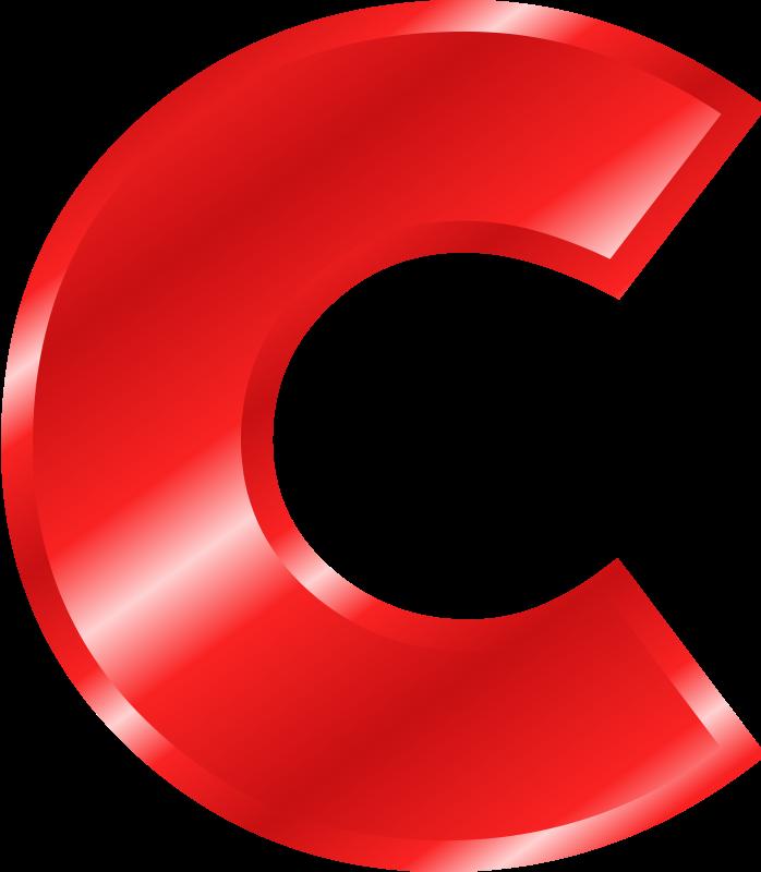 Script Letter C-clip Art Clipart - Clipart Kid