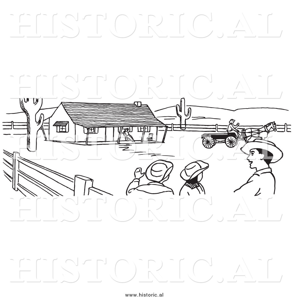 Agriculture Clipart Black And White Farm Black And ...