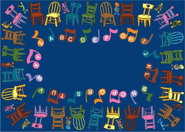 Musical Chairs   Classroom Rug