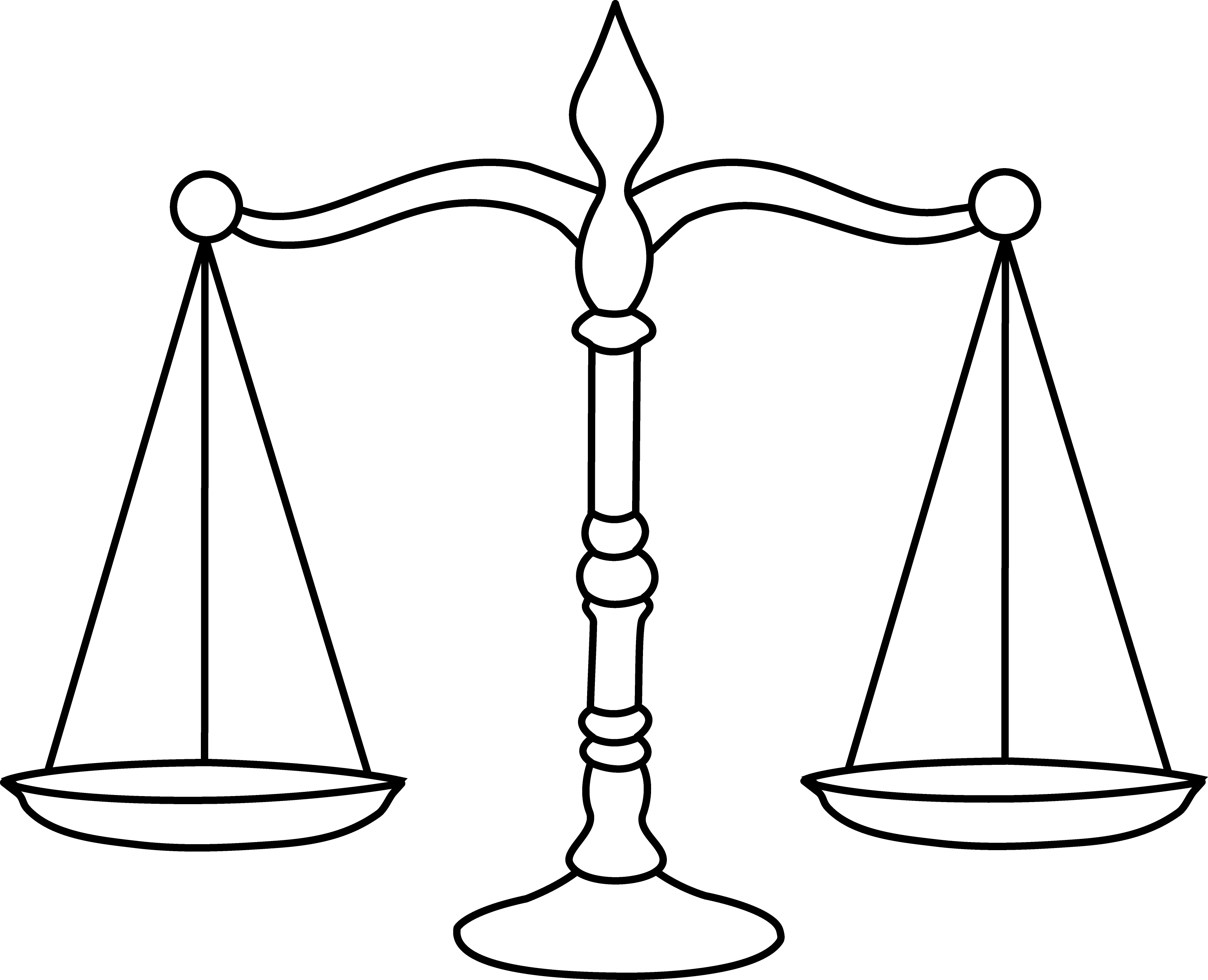 Tilted balance scale clipart clipart suggest for Line balancing template
