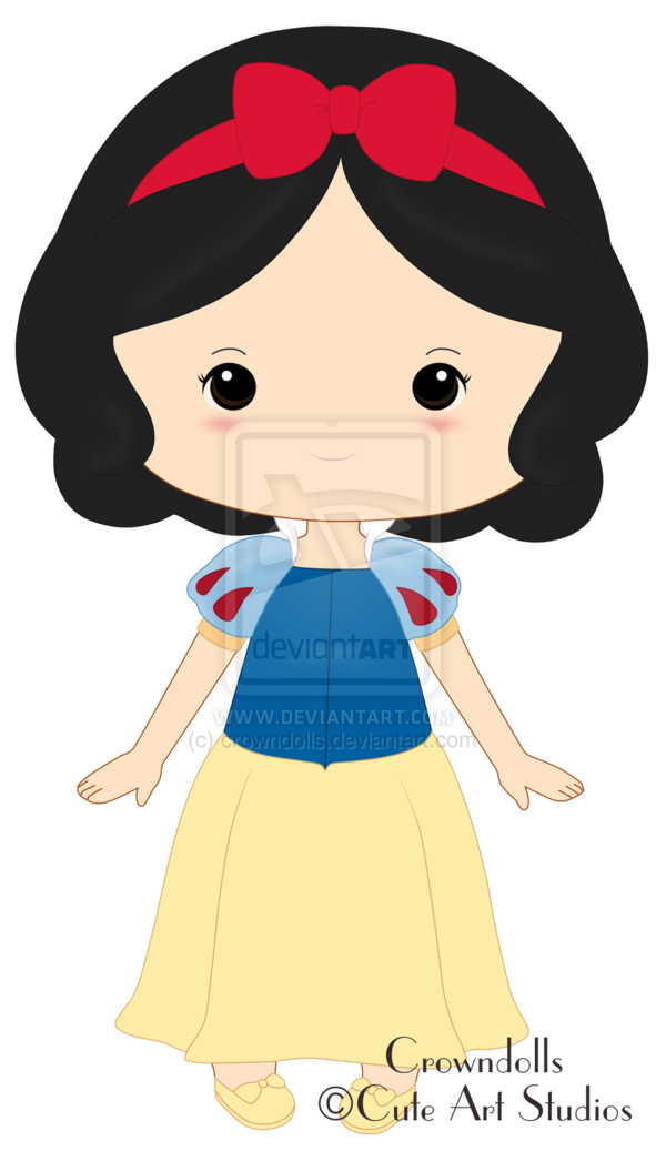 Clipart Snow White By Crowndolls On Deviantart