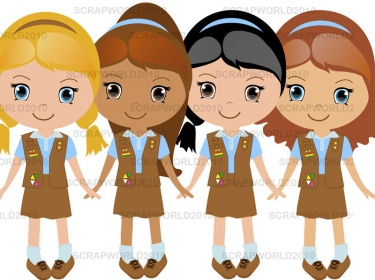 Clip Art Girl Scouts Clip Art girl scout brownie clipart kid copy0 1390479545 broun jpg 1390485773