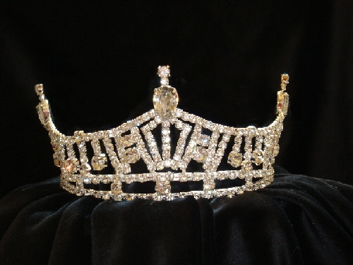 For An Exquisite Matching Miss America Crown And Scepter Set Scroll
