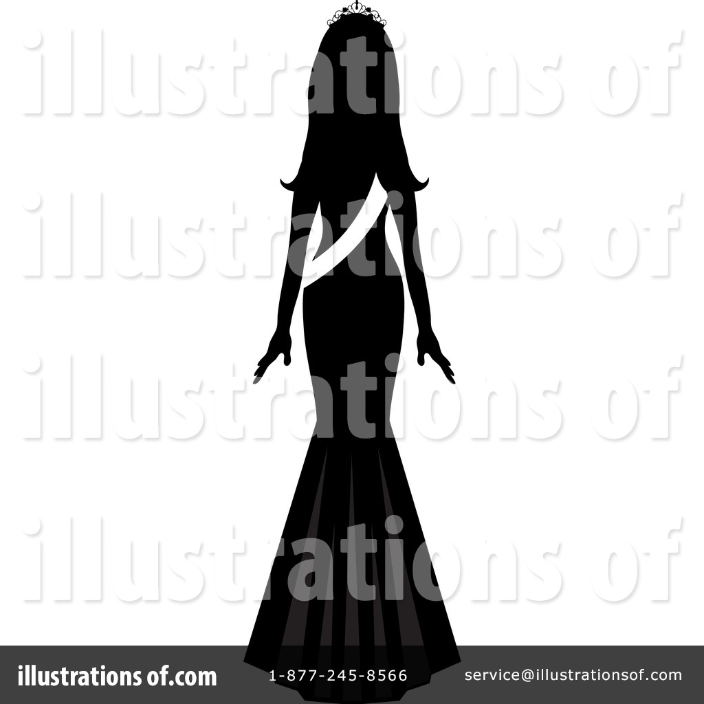Free  Rf  Beauty Pageant Clipart Illustration  1132108 By Pams Clipart