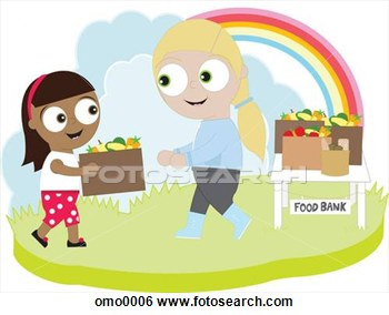 Giving Food To The Poor Clipart Giving Food To The Poor