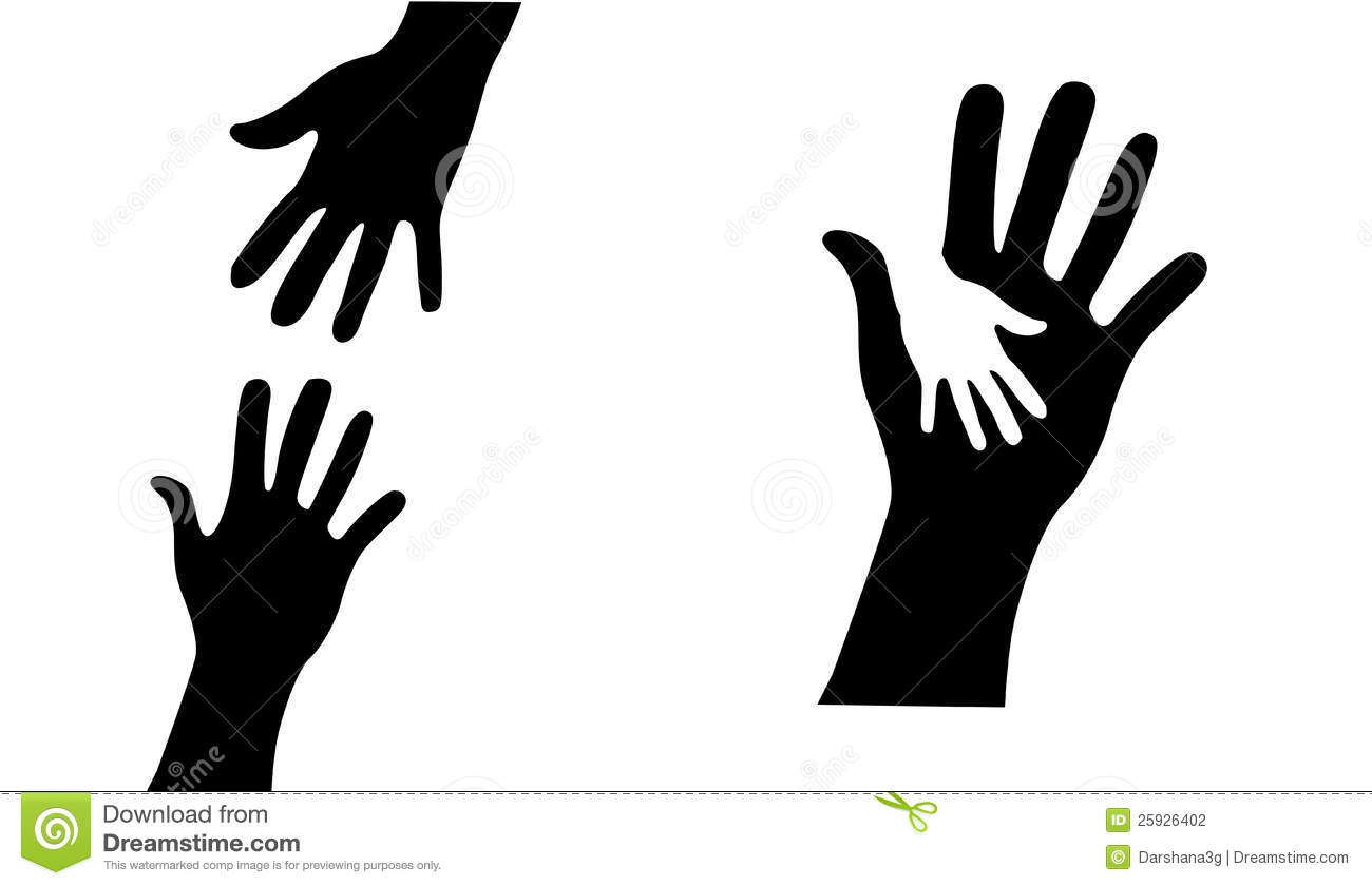People Helping People Black And White Clipart - Clipart ...