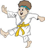 Martial Arts And Graphics Clipart
