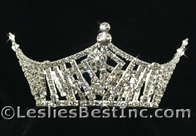 Miss America Crown Replica  Round Top