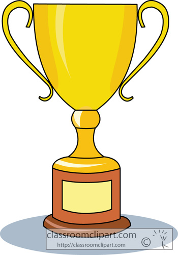 Clip Art Clipart Trophy trophy clipart kid objects 2513 2 classroom clipart