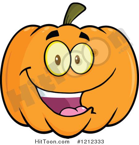 Smiling Pumpkin Clipar...