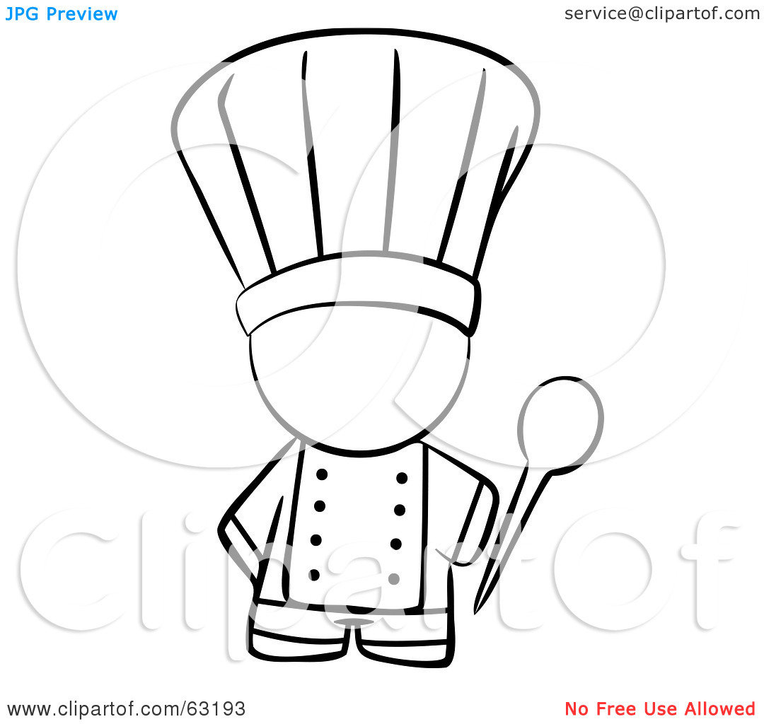 Royalty Free Rf Clipart Illustration Of A Black And White Human Factor