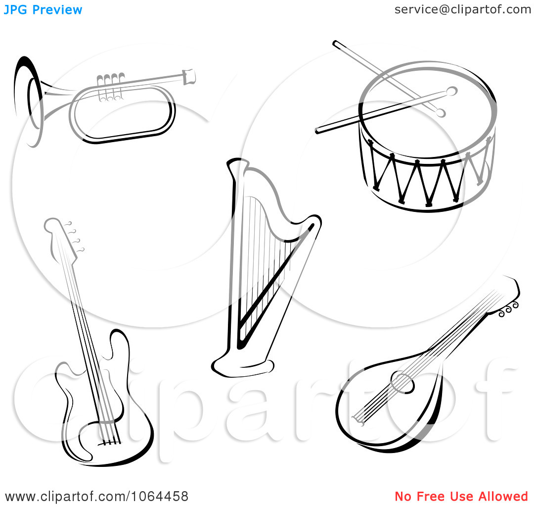 Trombone Clip Art Black And White Clipart Black And White