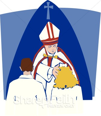 sacrament of confirmation clipart clipart suggest