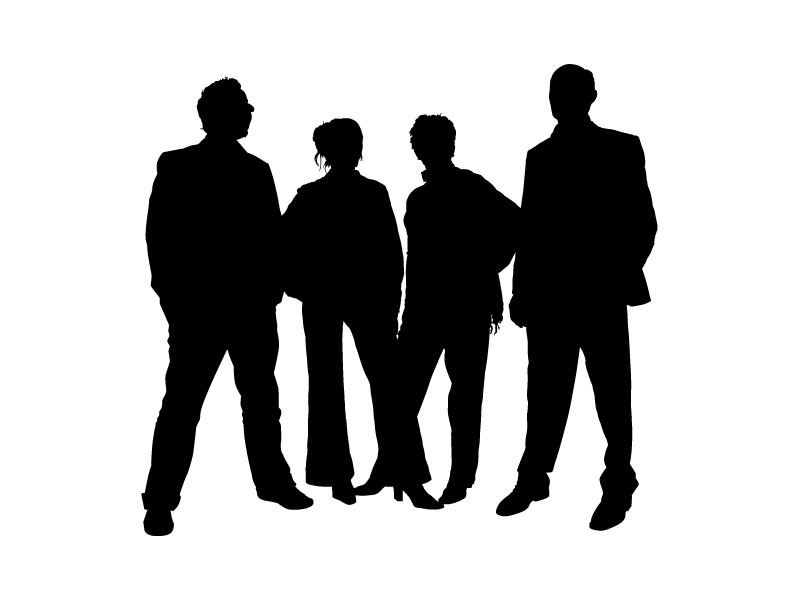 Family People Silhouettes Vector Free Vectors   Vector Me