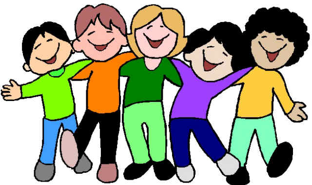 Group Of Kids Having Fun Math Group Work Clipart