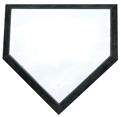 Baseball Home Plate Clipart - Clipart Suggest