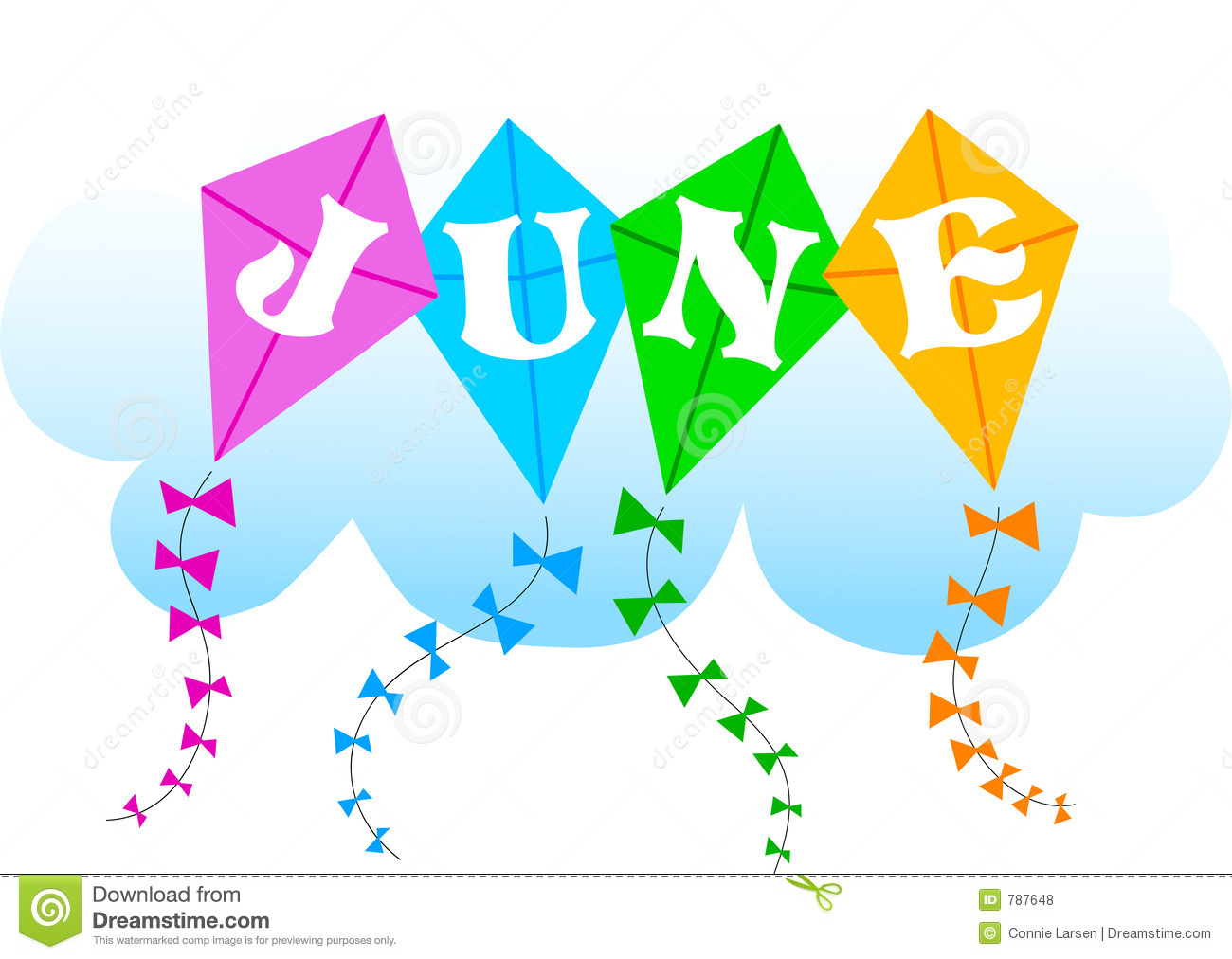 June Kites Eps Royalty Free Stock Photos   Image  787648