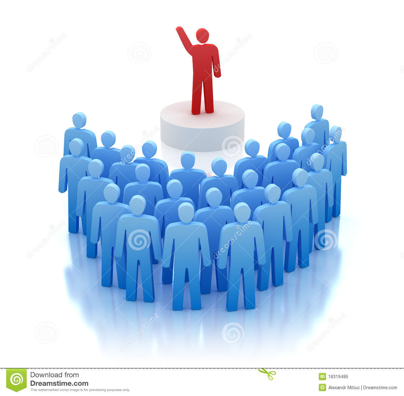 Orator Speaking In Front Of People Royalty Free Stock Photo   Image