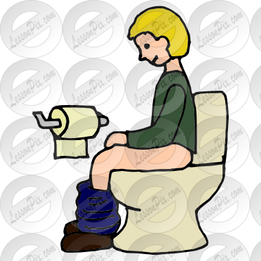 Potty Picture For Classroom   Therapy Use   Great Potty Clipart