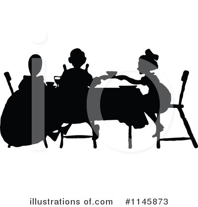 Royalty Free  Rf  Tea Party Clipart Illustration  1145873 By Prawny