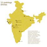 Twelve Jyotirling Shrines Important Shaivite Pilgrimage Places On
