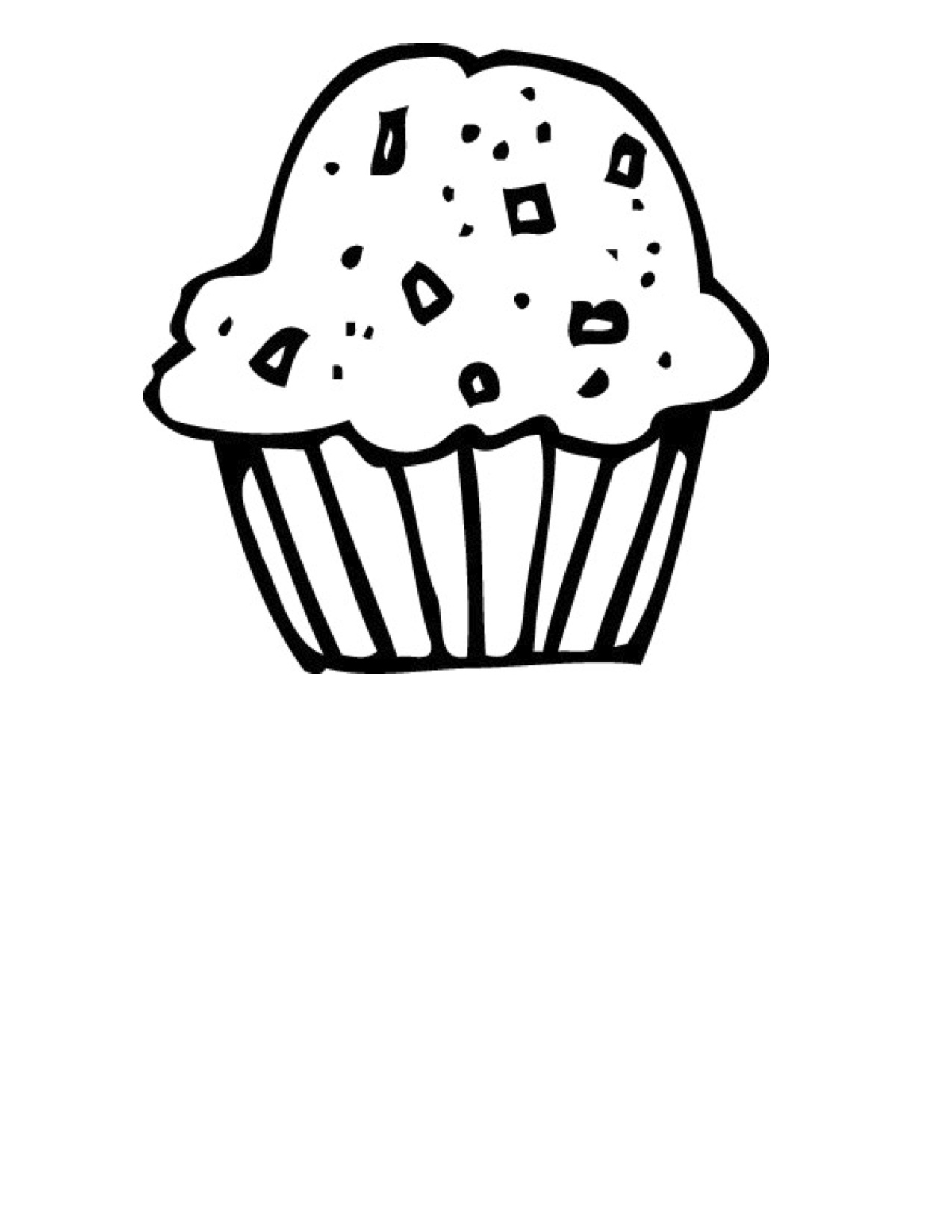 16 Drawing Cupcake Free Cliparts That You Can Download To You Computer