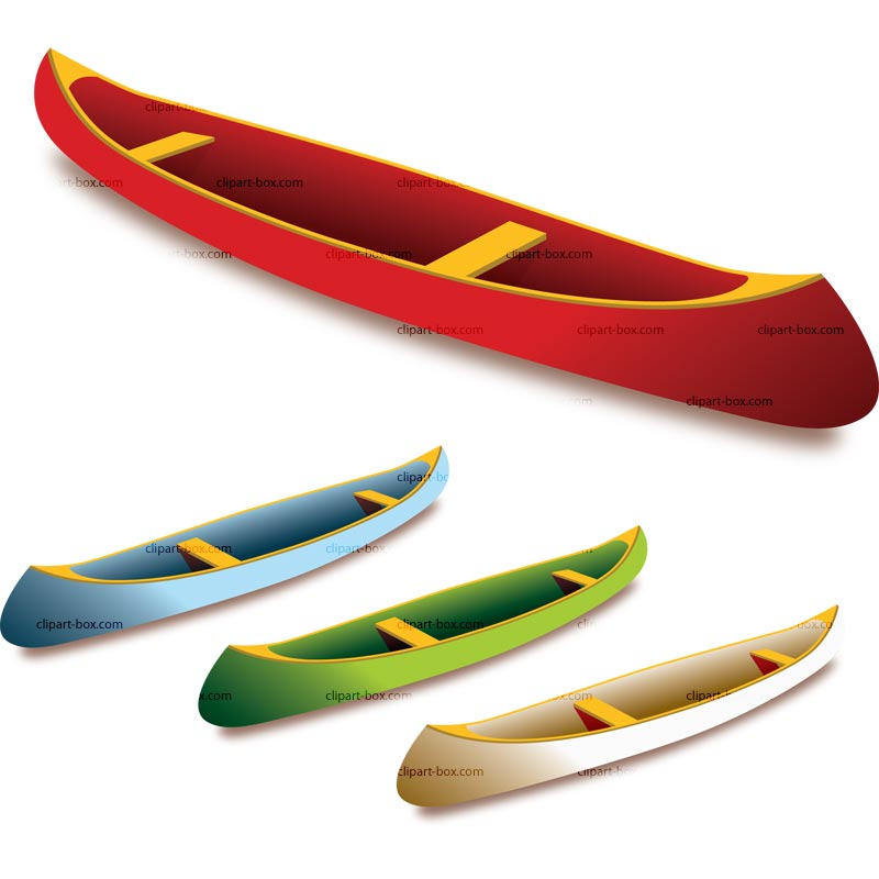Canoe Vector Royalty Free Vector Design