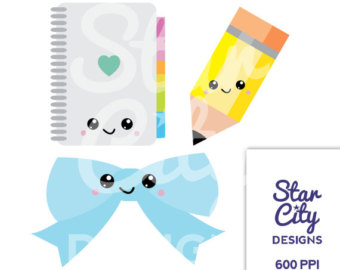 Clipart Notebook Clipart Planner Clipart Pencil Clipart School Clipart