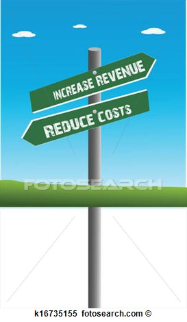 Clipart   Revenue And Cost  Fotosearch   Search Clip Art Illustration