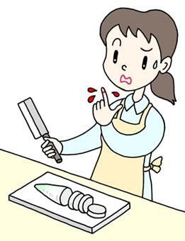 Cut Finger Cartoon Clipart Free Clipart