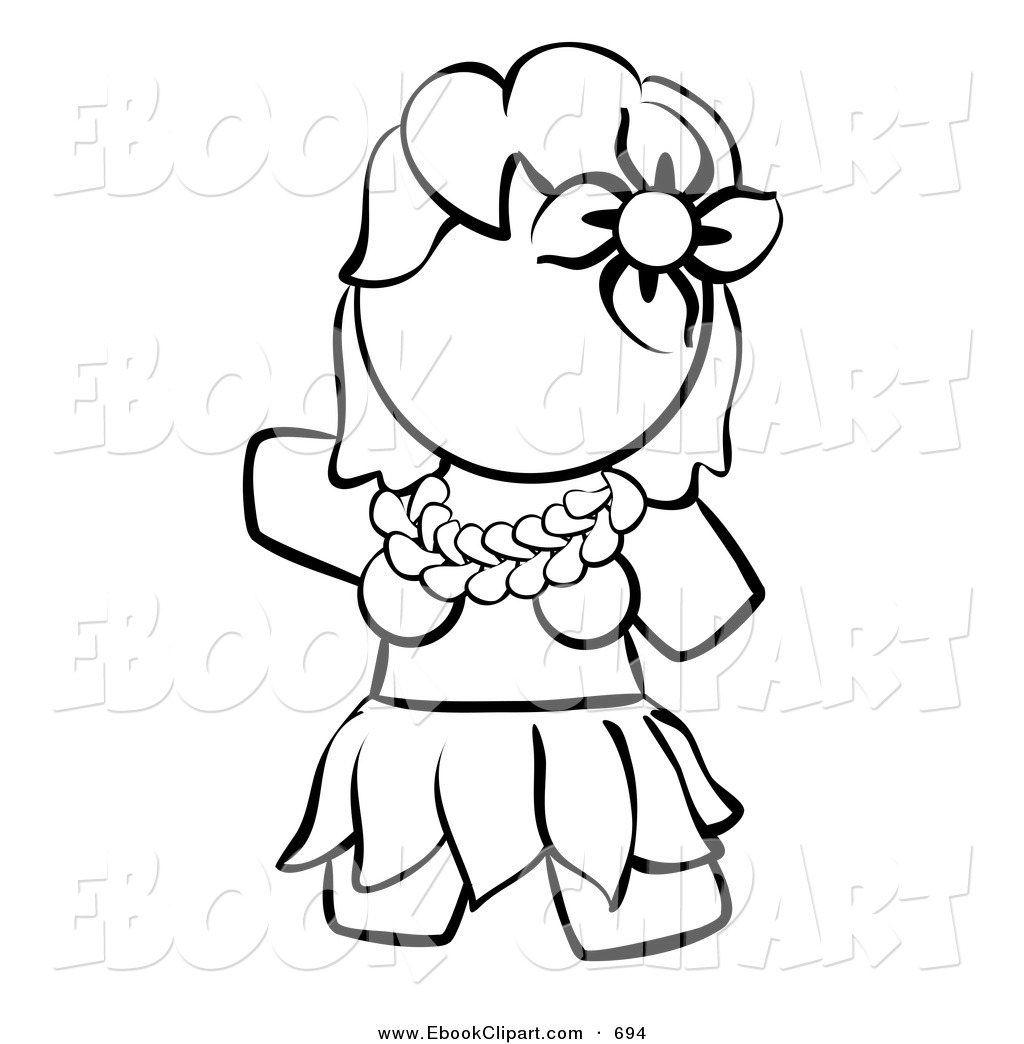 Human Clipart Black And White Vector Clip Art Of A Black And White