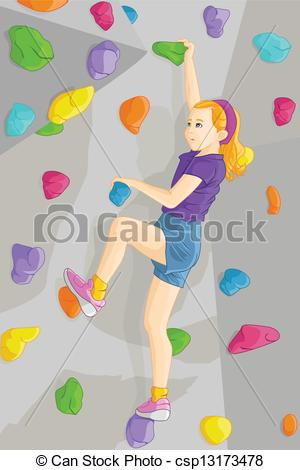 Girl Climbing Clipart - Clipart Suggest
