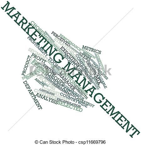 Marketing Information Management Clipart Word Cloud For Marketing