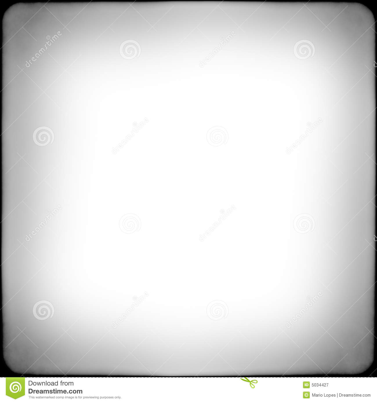 Black And White Square Frame Royalty Free Stock Photography   Image