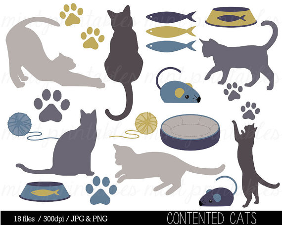 clipart cat toys - photo #2