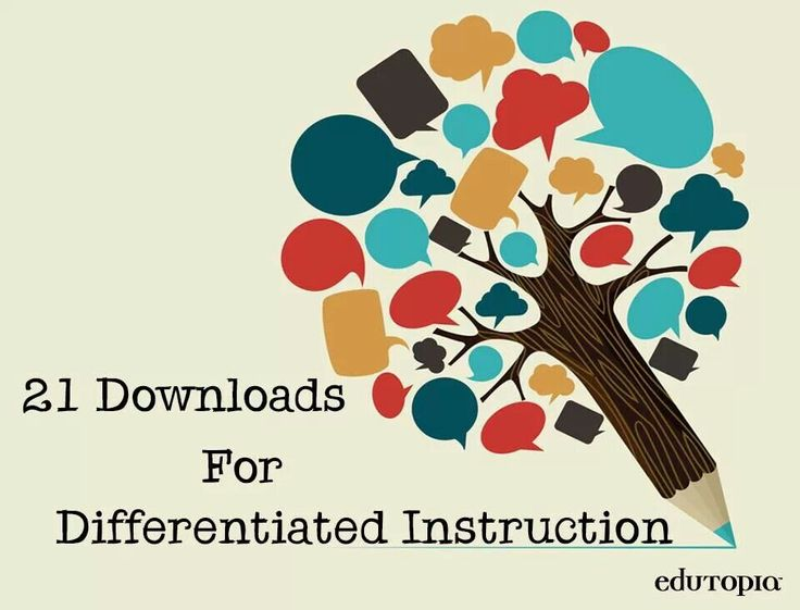 Differentiated Instruction   School   Pinterest