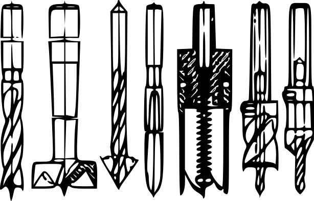 Power Drill Bit Clip Art : Oil drill bit clipart suggest