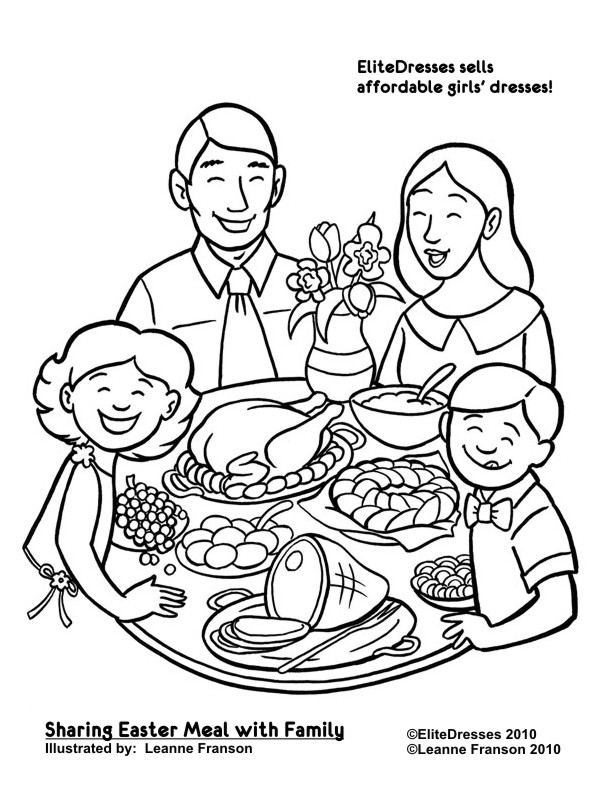 Free Eastercoloring Pages   Free And Printable  Coloring Easter