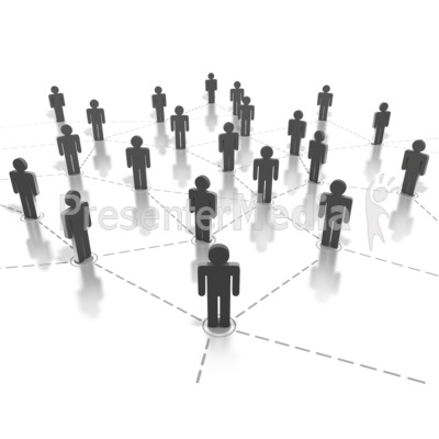 Networking People Connection   Science And Technology   Great Clipart