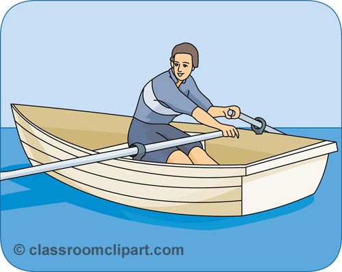 free clip art rowboat - photo #38