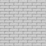 Seamless White Brick Vector Square Texture Seamless White Pattern Set