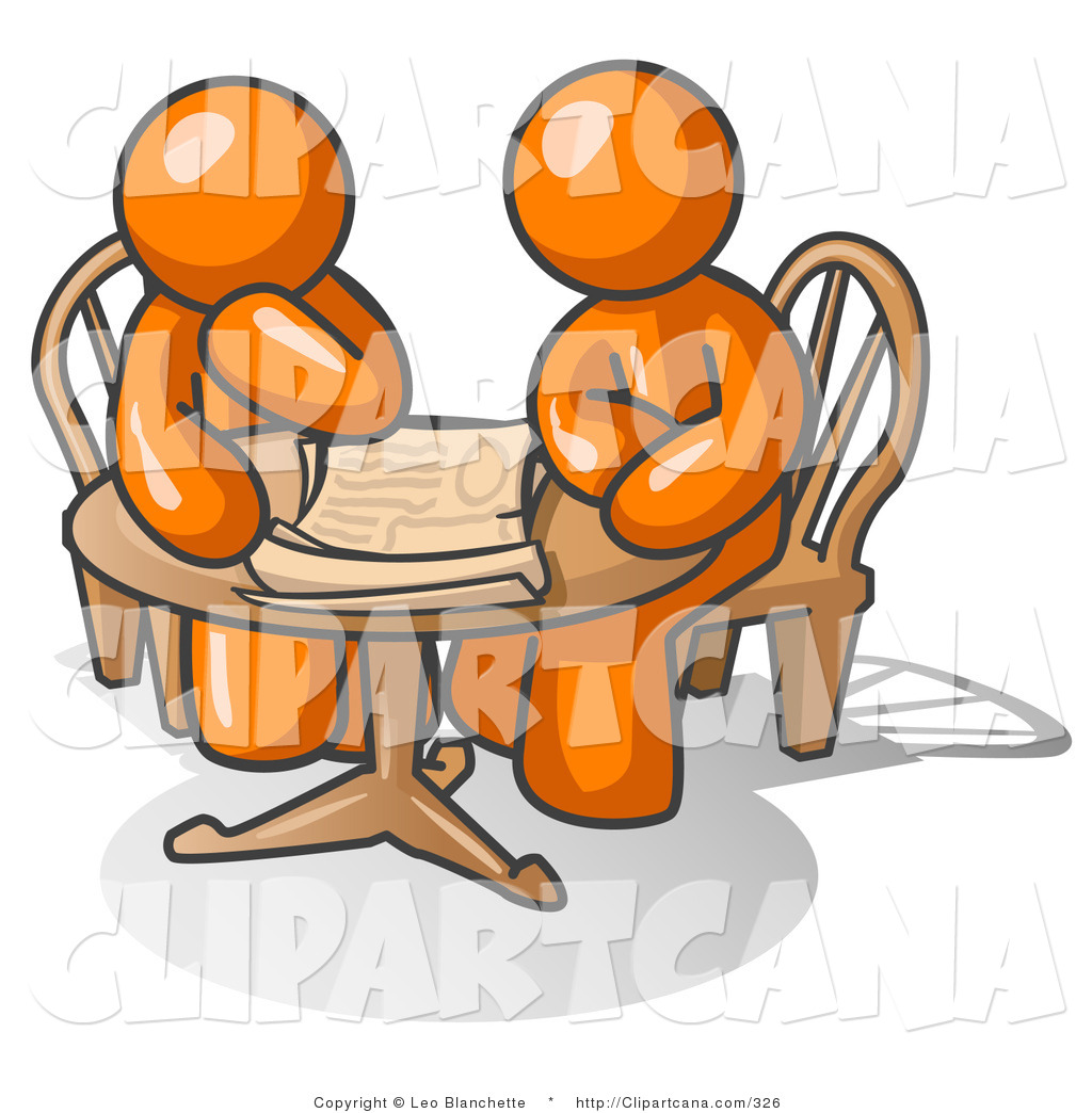 People Sitting At Table Clipart - Clipart Kid